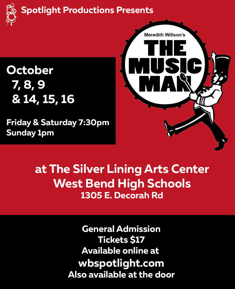 Spotlight Productions presents The Music Man
