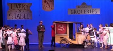 The Wells Fargo wagon