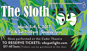Spotlight Productions presents The Sloth