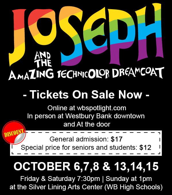 Spotlight Productions presents Joseph and the Amazing Technicolor Dreamcoat